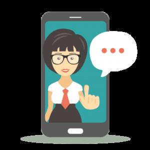 assistant virtuel assister invités voyageurs clients
