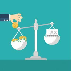 location taxe régime réel
