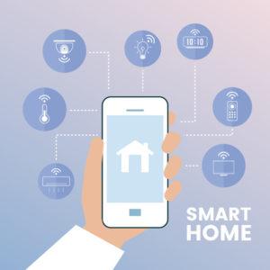 location saisonnière objets connectés intelligent smartphone à distance