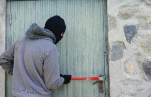 effraction de coffre à clés