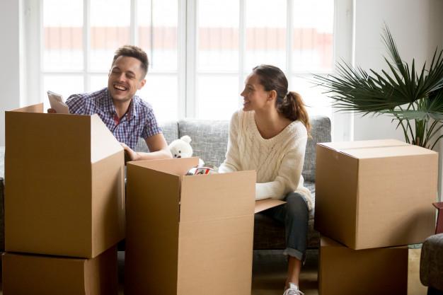 emménagement location nouvelle ville logement provisoire