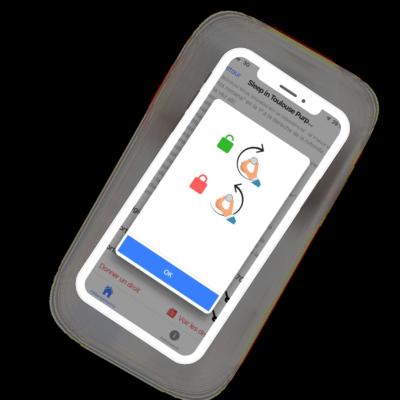 BNB ACCESS® Serrure connectée pour vos locations Airbnb { Ouverture de la porte d'immeuble avec une app ou à distance, Sans accord de copropriété, Codes temporaires valables pour la durée du séjour }